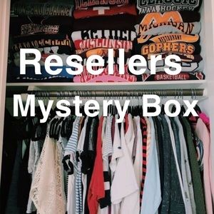Resellers clothes mystery box